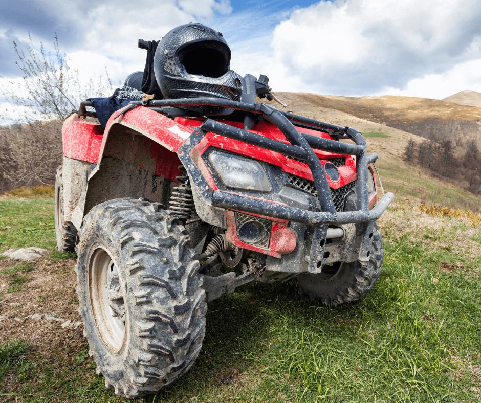 ATV Transport towing service