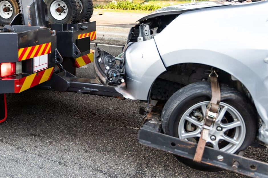 Towing Services NWA Car accident