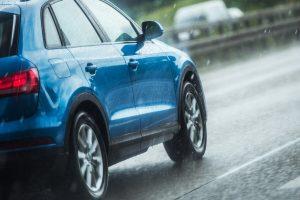 drive safe in the rain