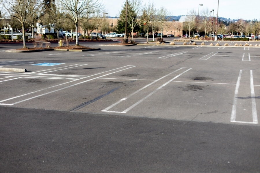 Empty parking lot to teach teen to drive in NWA